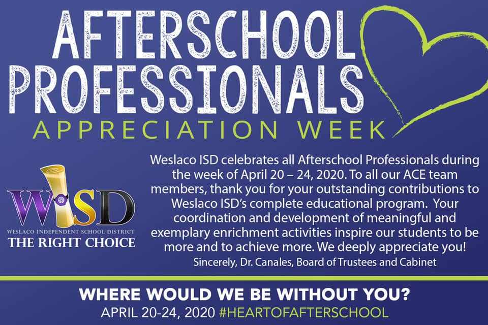 Afterschool Professionals Week