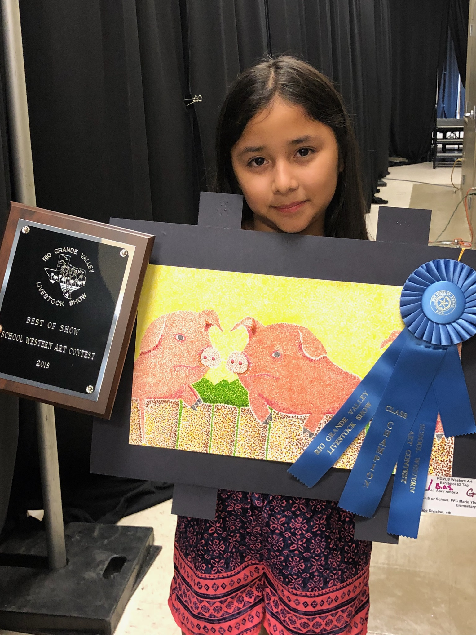 RGVLS Art Contest Winners
