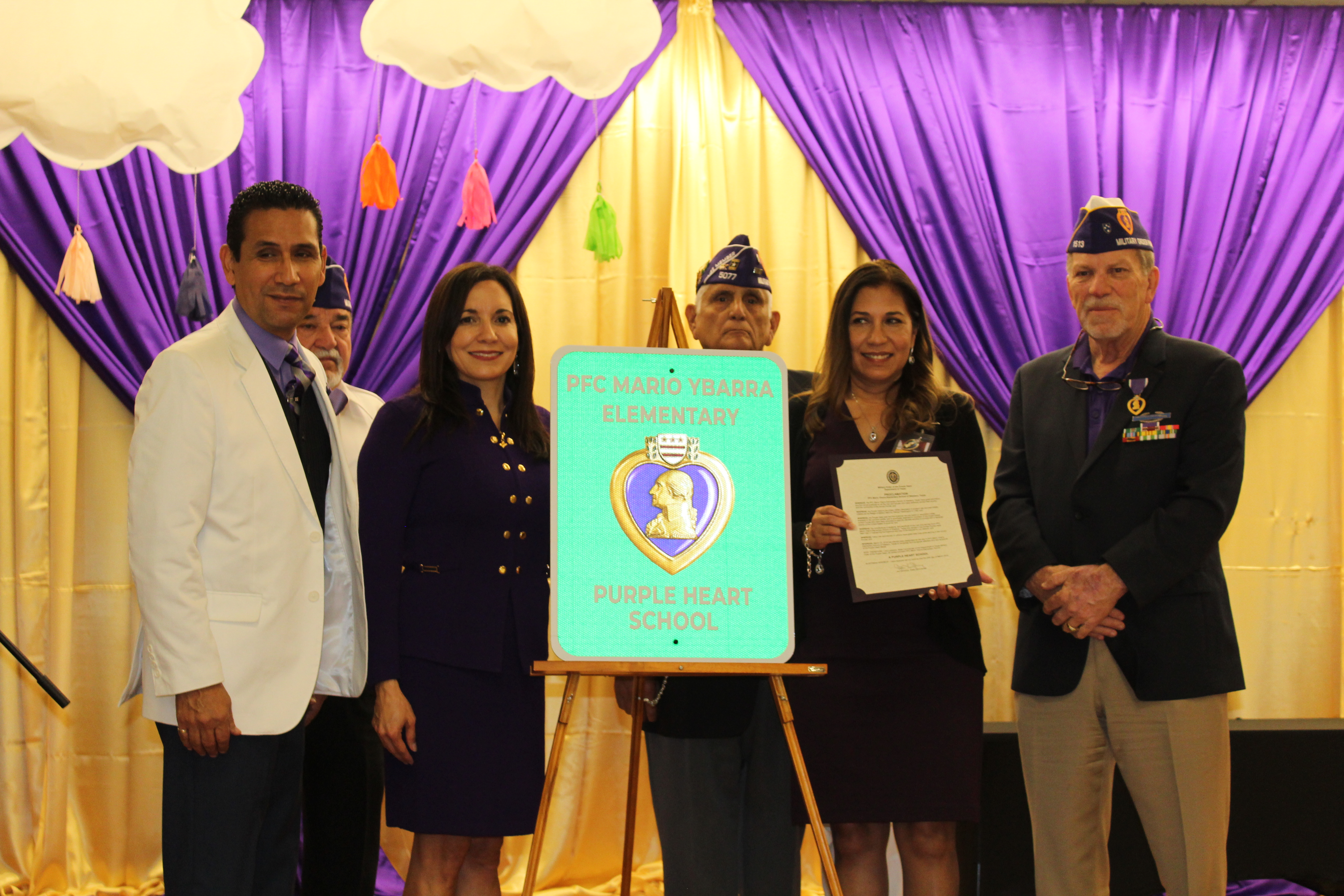 Purple Heart Distinction