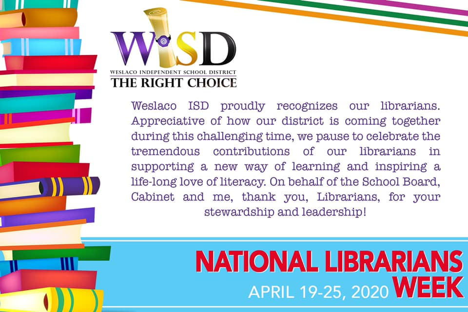 National Librarians Week