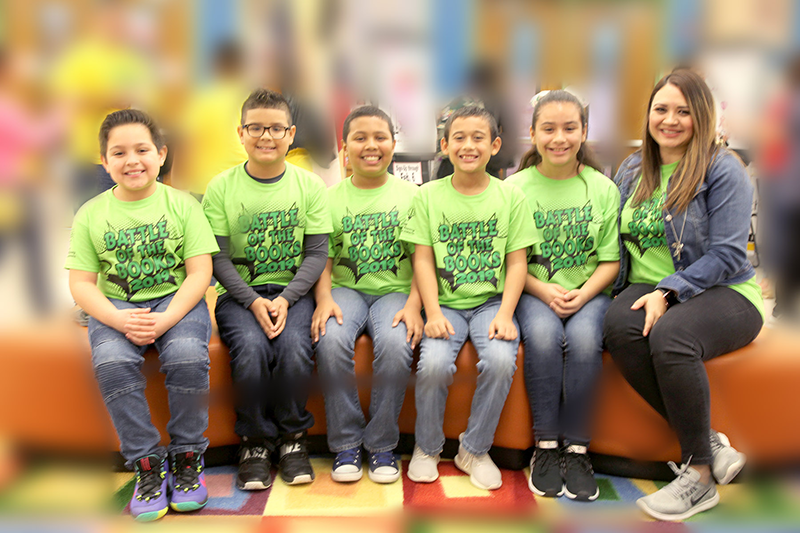 "Ybarra Elementary wins ""Battle of the Books"""